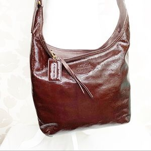 Coach | Patent Leather Hobo Bag